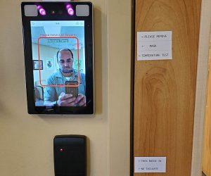 Thermal Screening Access Control